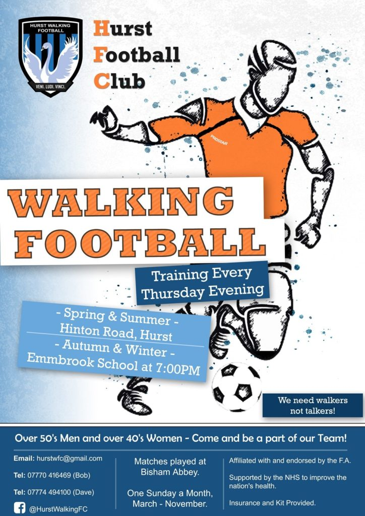 Hurst Walking Football